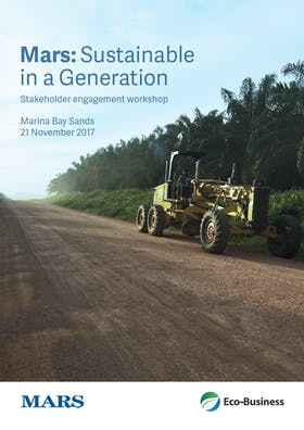 Mars: Sustainable in a Generation Asia Pacific Dialogue