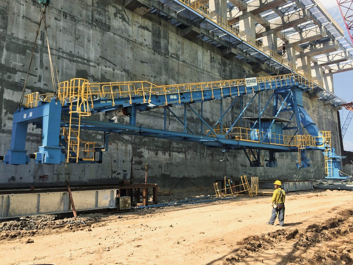 an Miguel Corporation's 4x150 MW coal power plant in Limay, Bataan