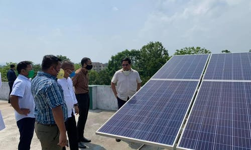 Powerless in a pandemic: Solar energy prescribed for off-grid healthcare