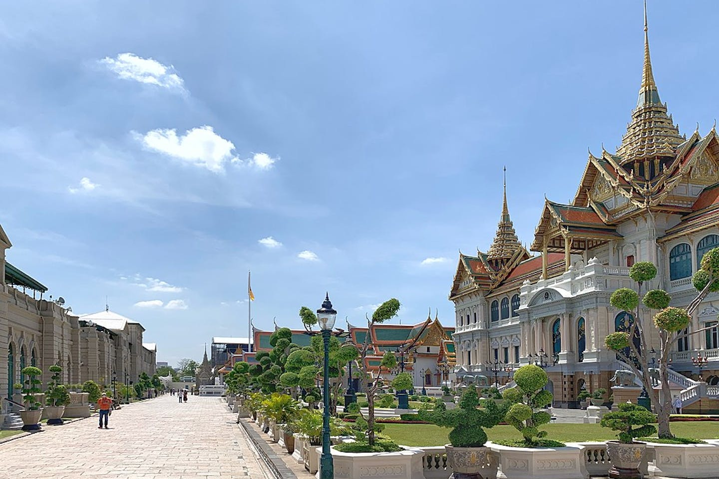 Bangkok Grand Palace during Covid
