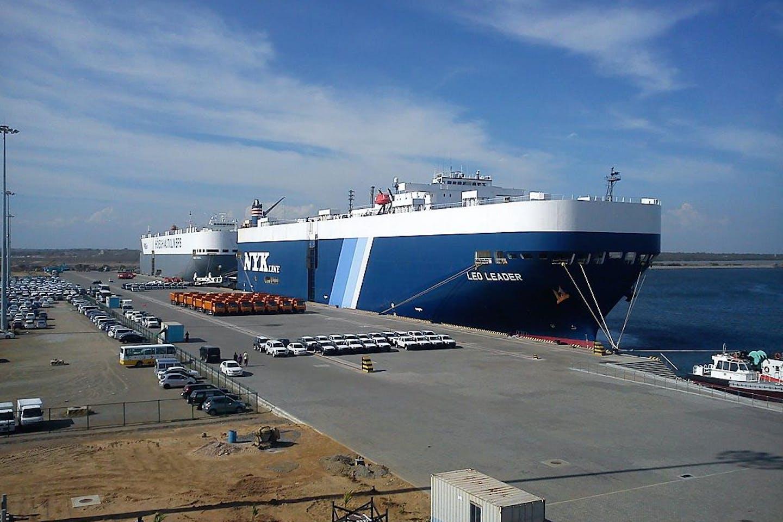 Hambantota Port Sri Lanka