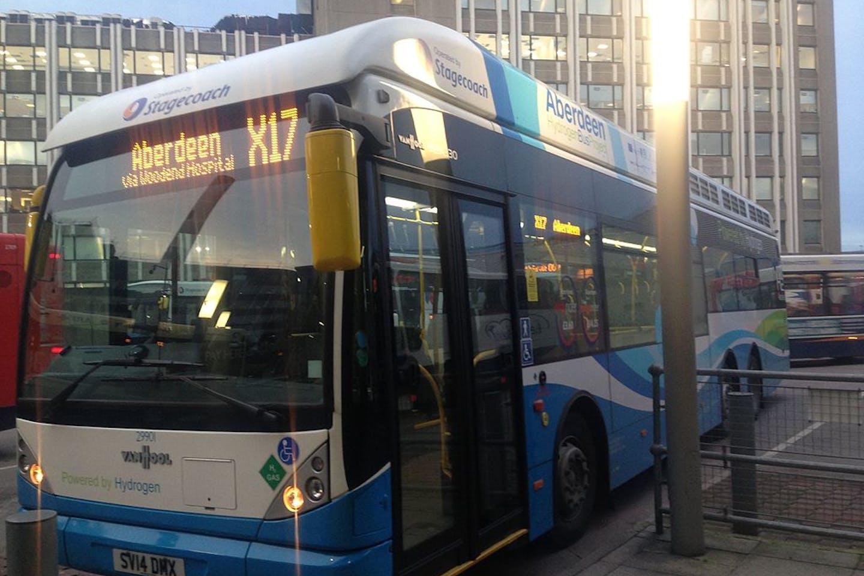 hydrogen bus aberdeen