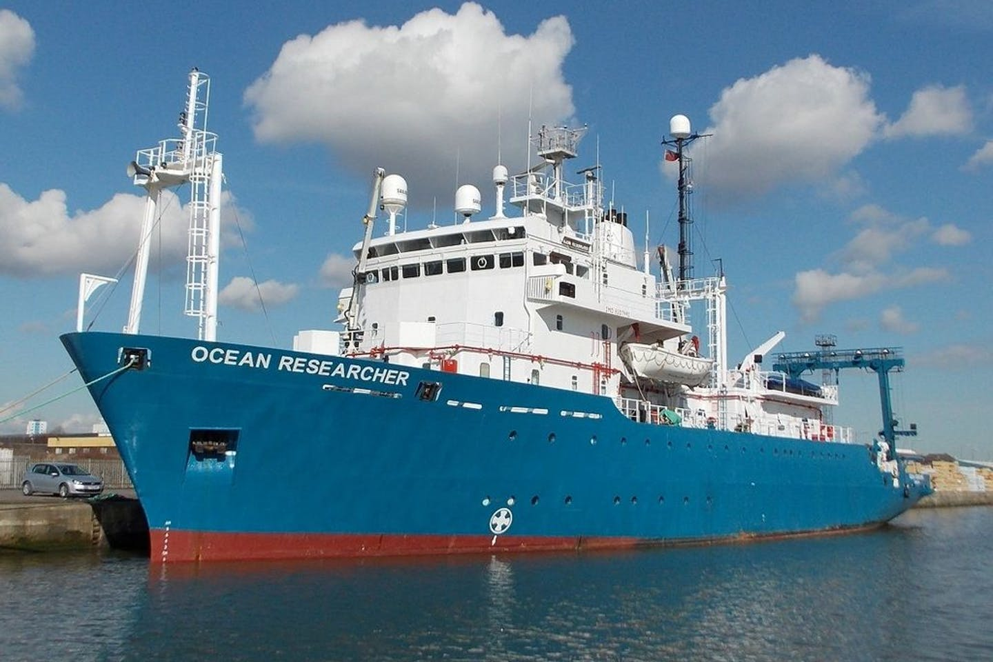 oceanographic research vessel