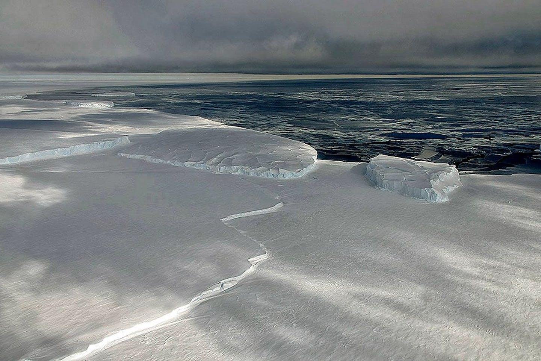 The Ross Ice Shelf Antartica