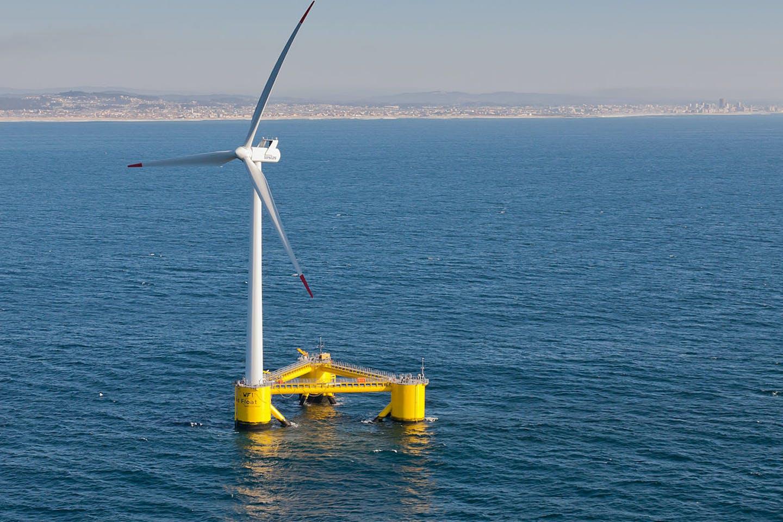Floating wind turbines, Portugal