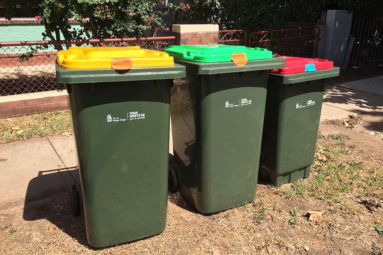 Australian FOGO bin