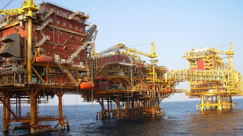 Oil platform, Mumbai, India