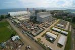 South Luzon Thermal Energy Corporation (SLTEC) coal facility in Calaca, Batangas