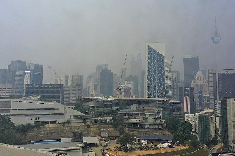 KL covered in Haze