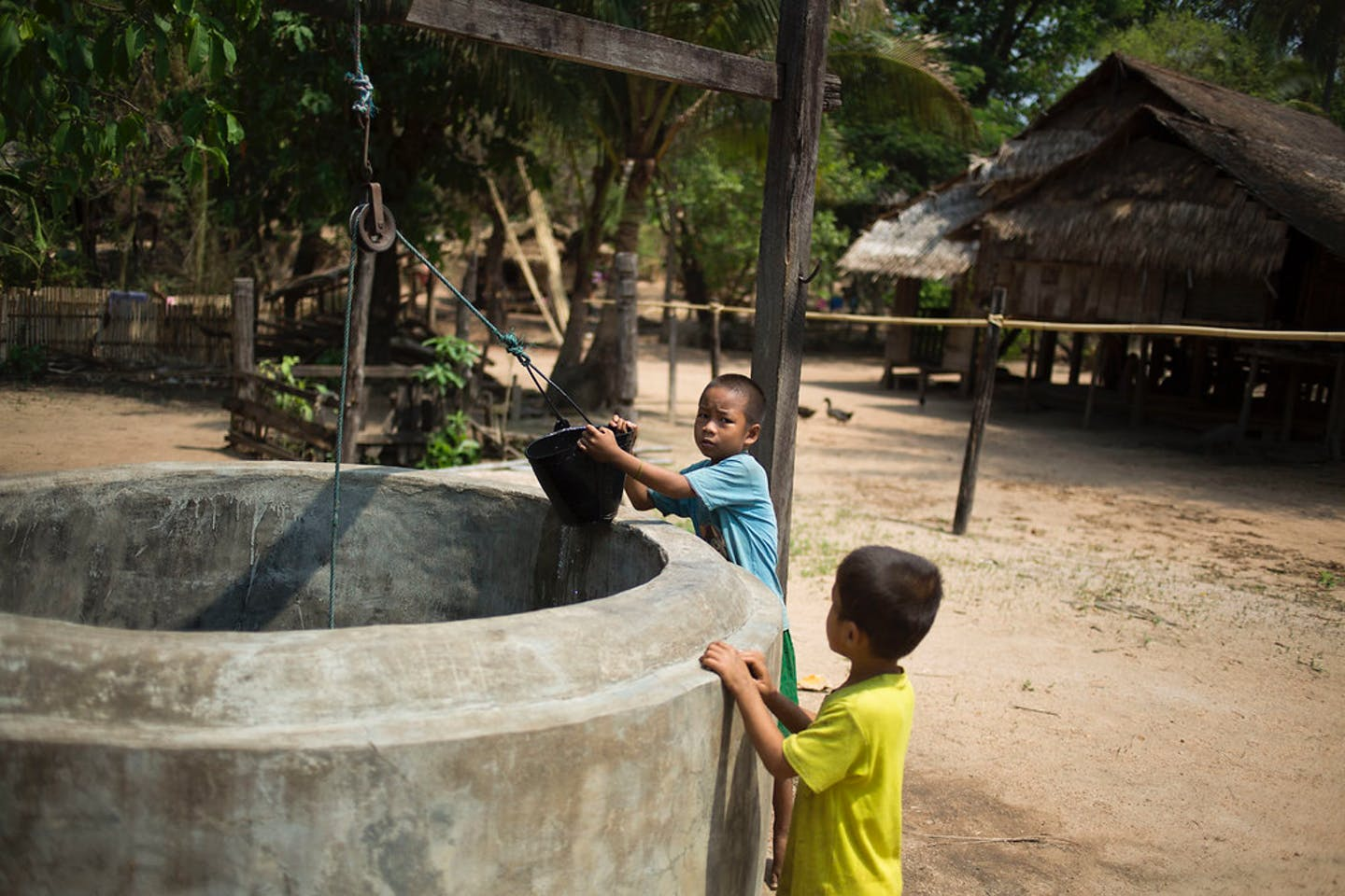 water shortage myanmar
