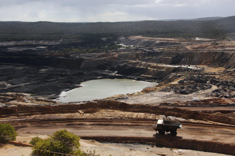 Coal mine in Victoria Australia