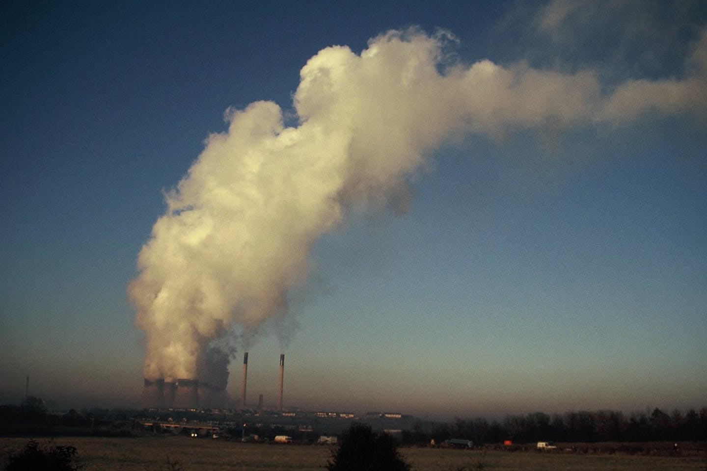 Europe's largest coal fired power station at Drax.