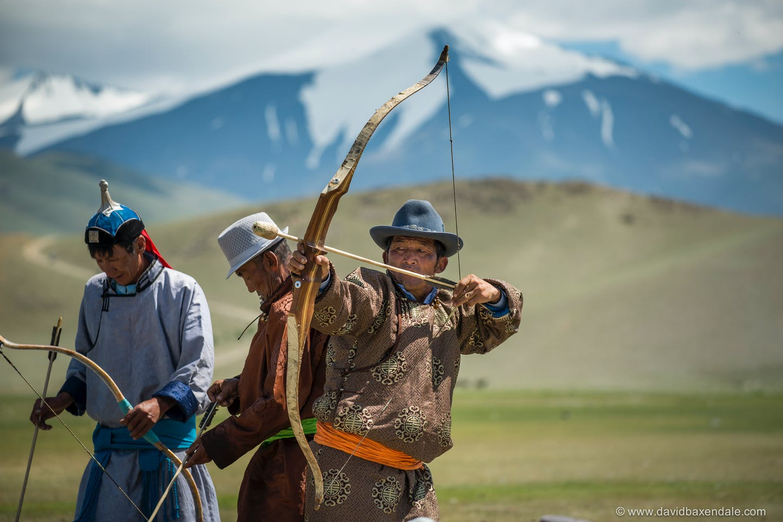 Mongolia archers