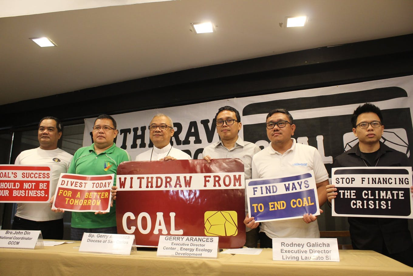 withdraw from coal campaign