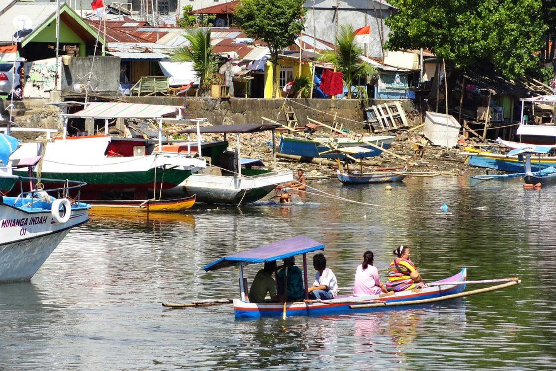 port of manado north sulawesi indonesia