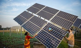 Investment in renewables must triple by end of decade to curb climate change