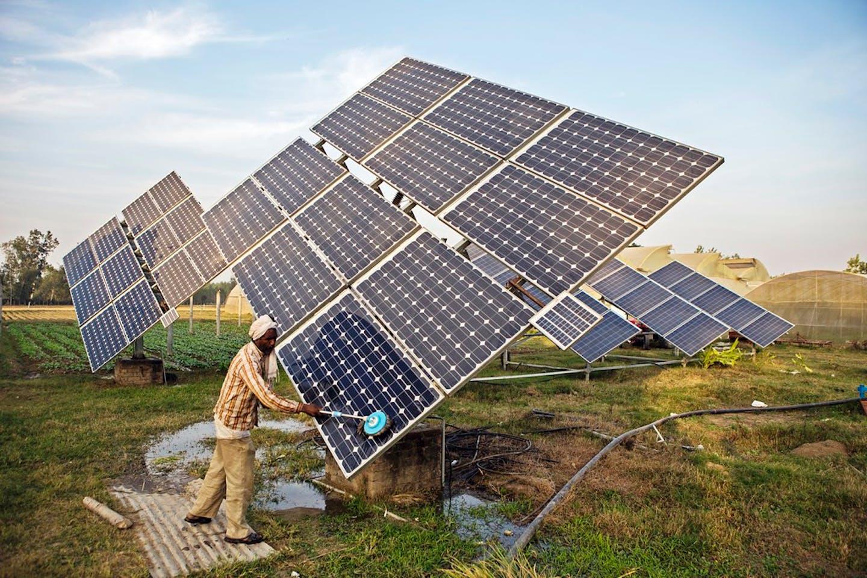 solar panels haryana india