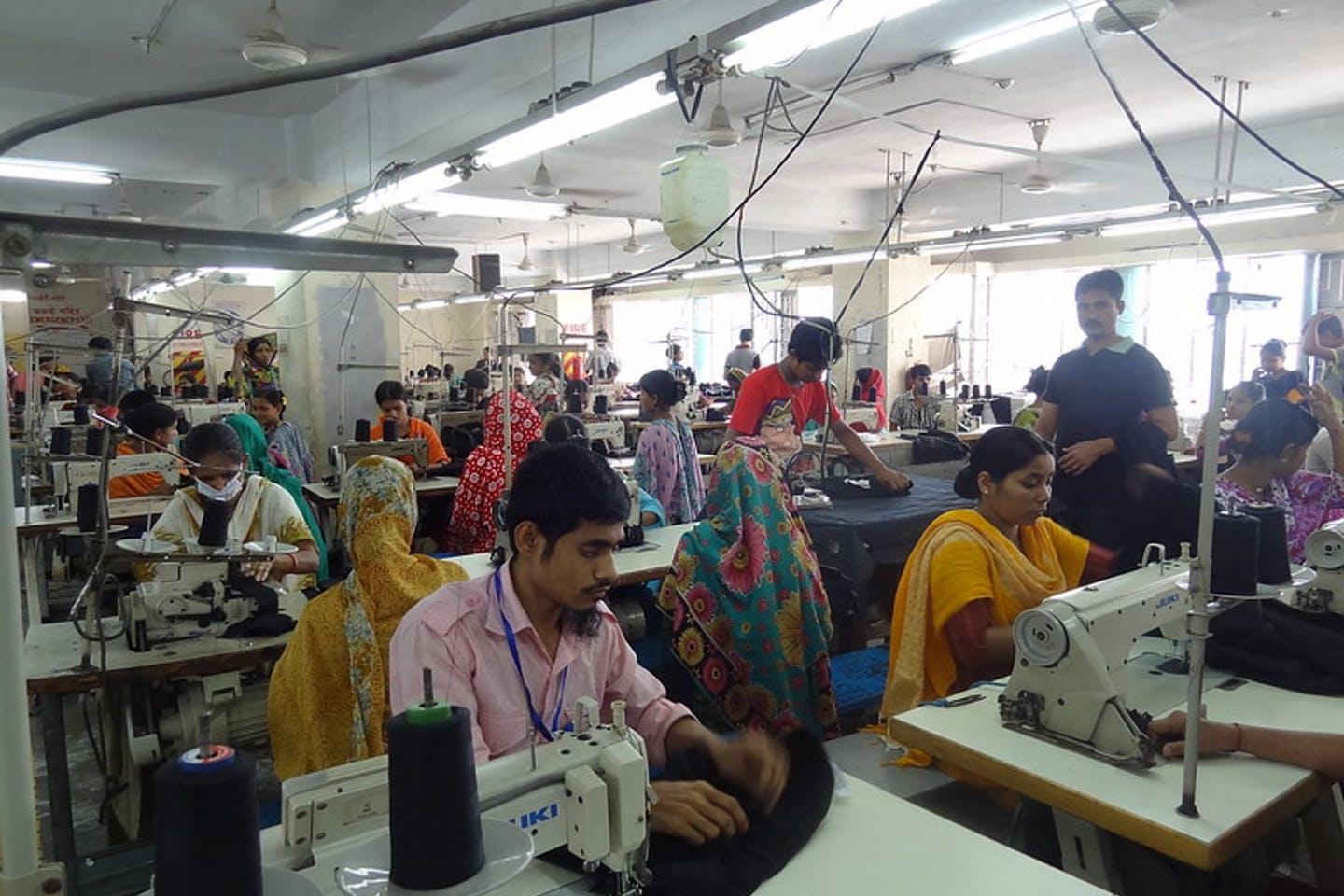 clothing women factory