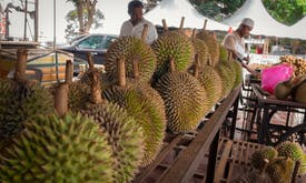Asia's love of stinky durian could help power tuk-tuks and phones