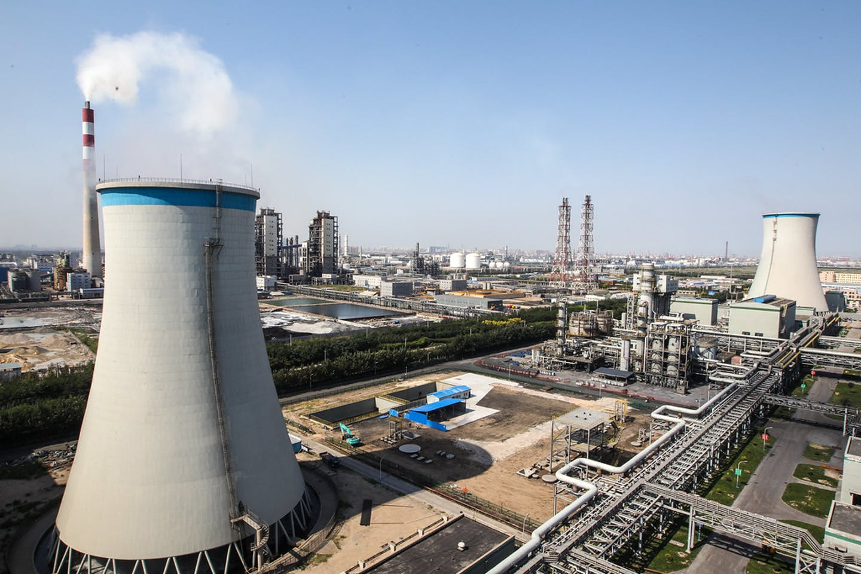 tianjin coal plant china