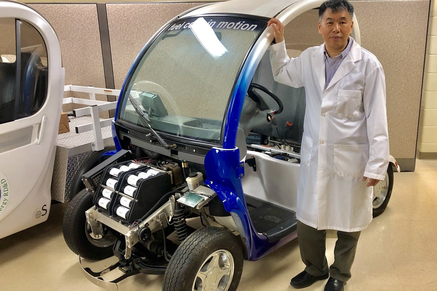 fuel cell test vehicle