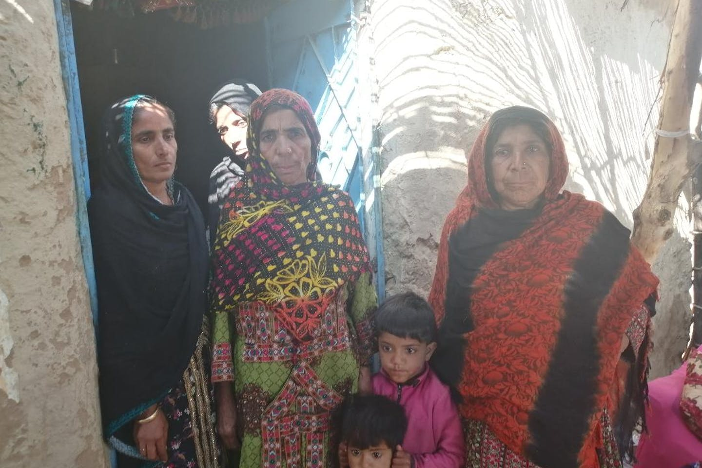 Women from the village of Mitho Goth in Pakistan. Image: Fariha Fatima/Eco-Business
