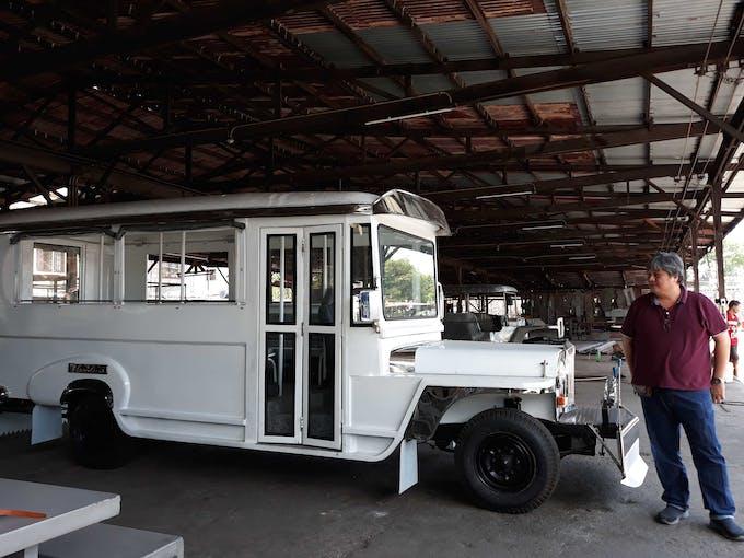 electric jeepney sarao motors