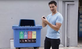 Secret cameras expose Singapore's recycling habits