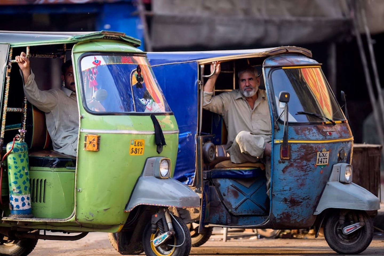 rickshaw pakistan