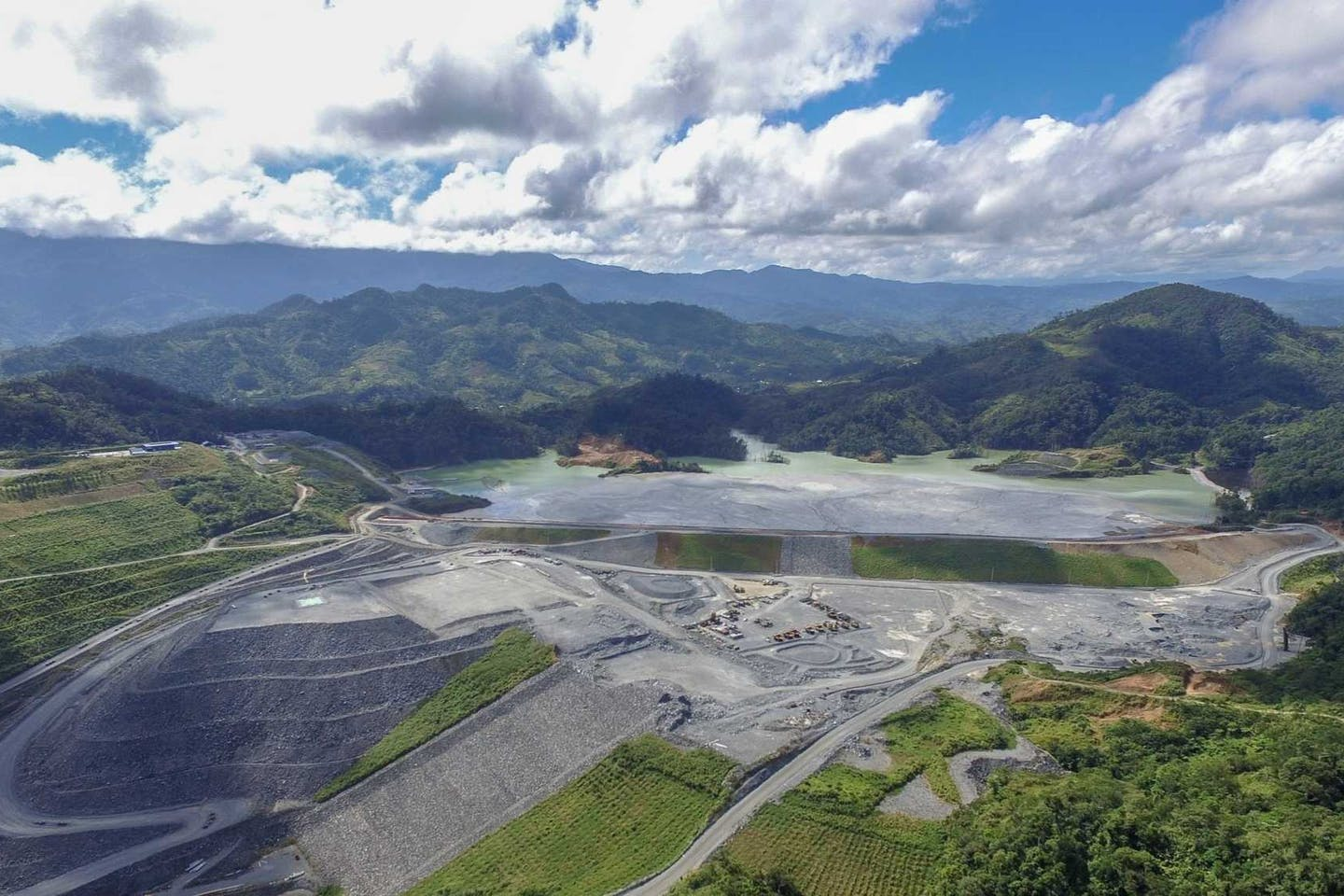 OceanaGold's gold and copper mine in  Didipio, Philippines