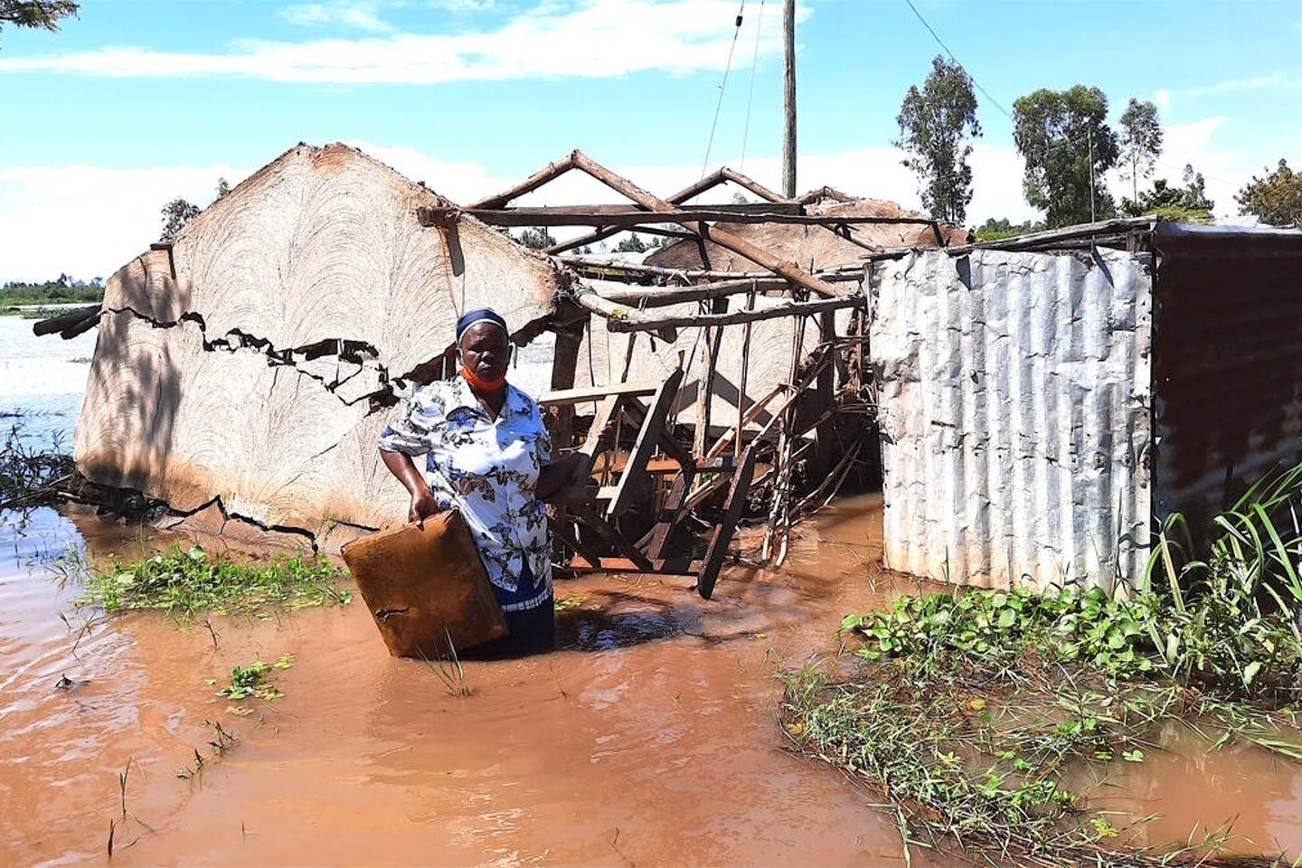 2021 climate disasters food security