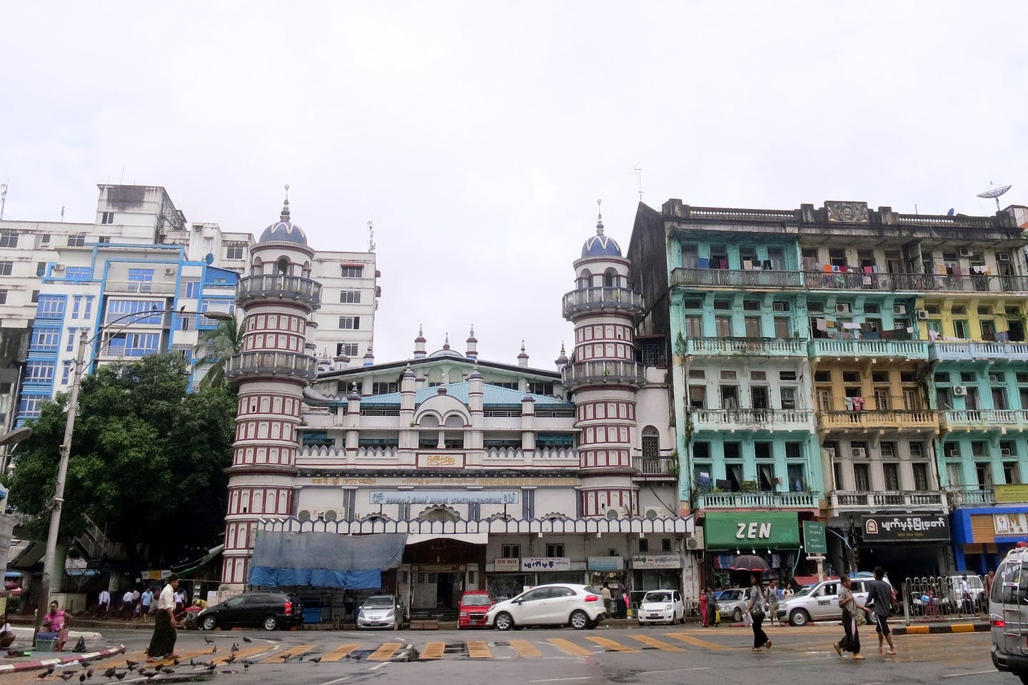 Yangon buildings