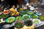 Market lady India