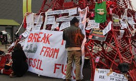 Global fossil fuel demand's 'staggering' fall