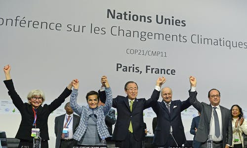 6 signs of progress since the adoption of the Paris Agreement