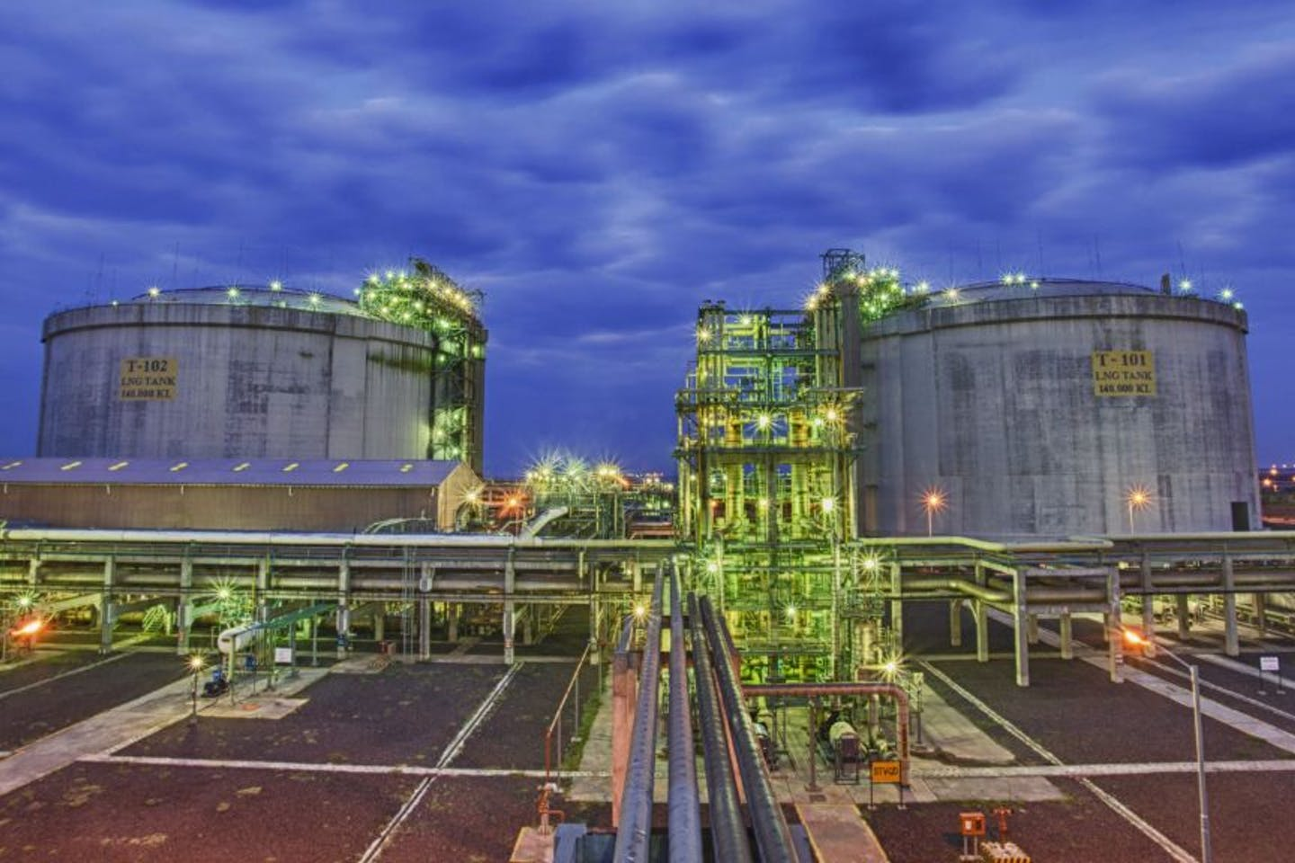 Philippine National Oil Company's liquefied natural gas (LNG) hub project in Batangas