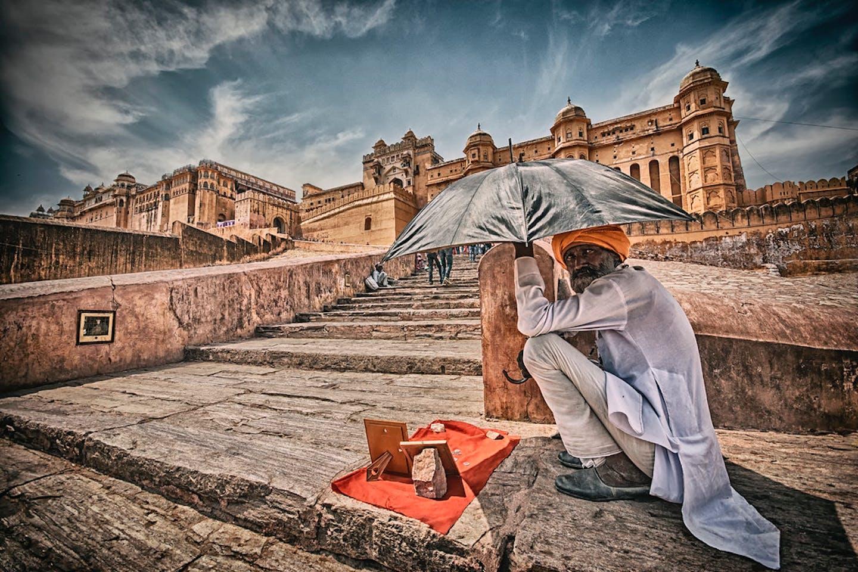 extreme heat Rajasthan, India