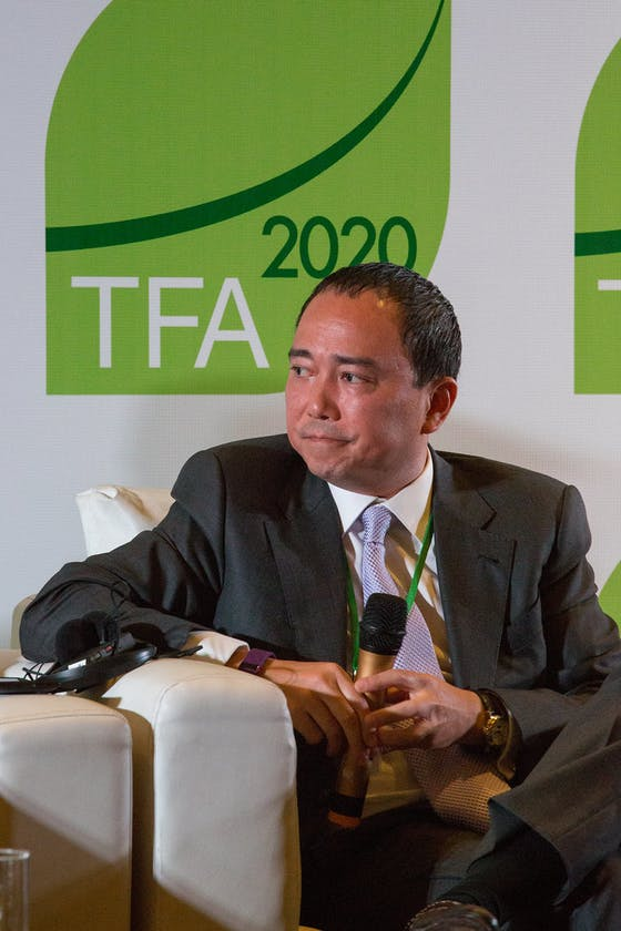 Jeremy Goon, Tropical Forest Alliance 2020 meeting