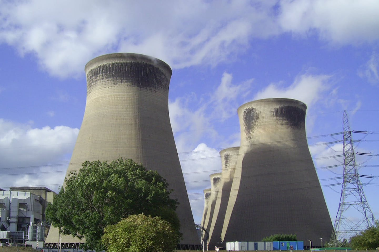 Ferrybridge coal power stations
