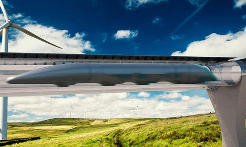 How far can hyperloops go to replace air travel?