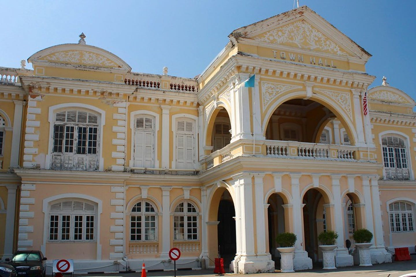 Town Hall in George Town Malaysia