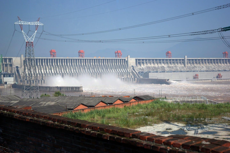 Three gorges dam, China