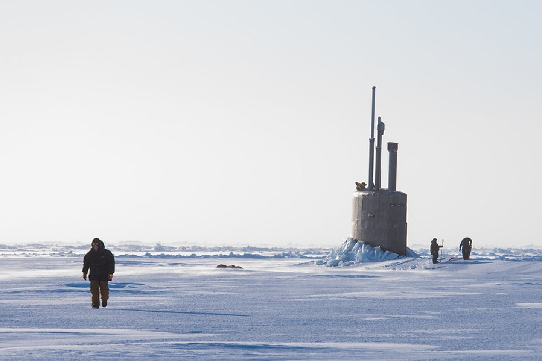 US scientists in the Arctic