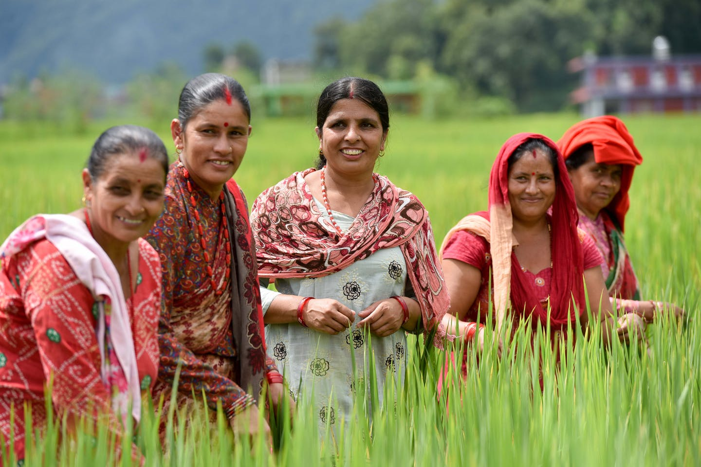 women farmers in nepal 1