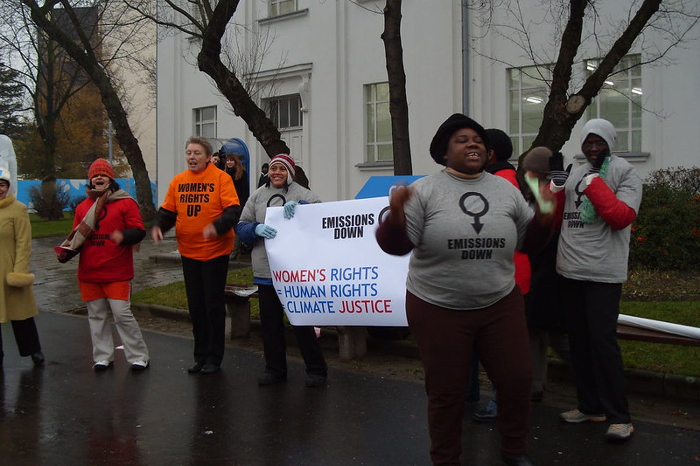 women's rights climate justice