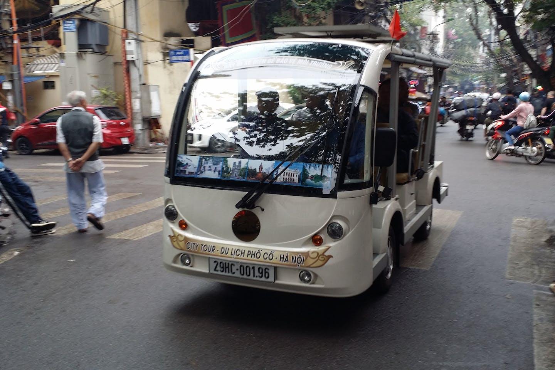 electric micro bus in vietnam