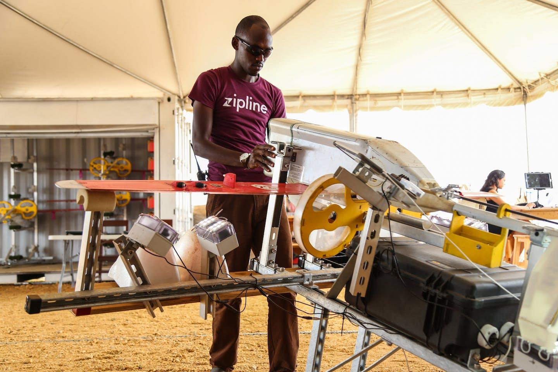 rwanda drone healthcare