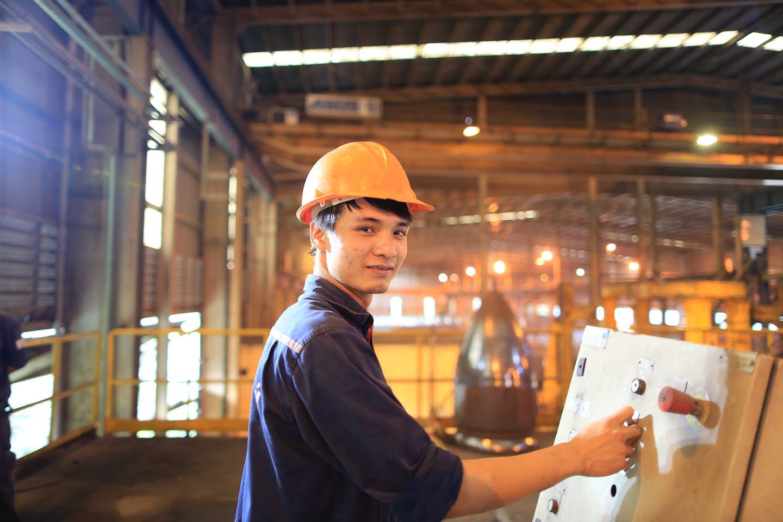Steelmaking plant Vietnam