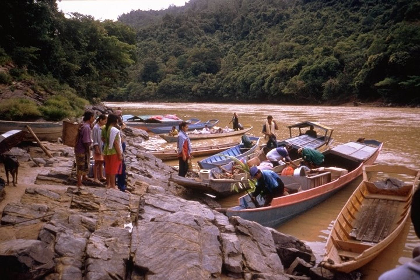indigenous people, Malaysian Borneo, displacement