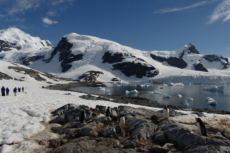 antartica temperatures